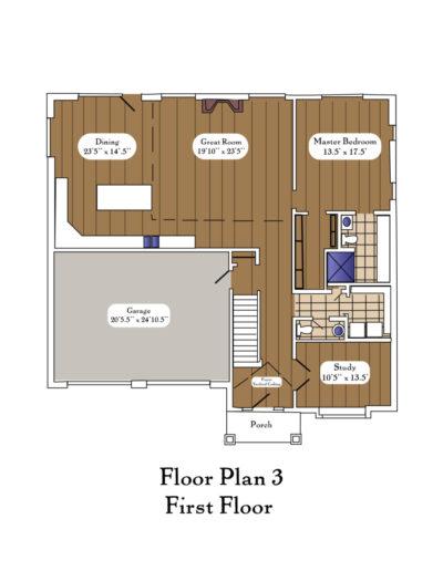 Color Floor Plan 3