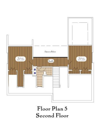 Color Floor Plan 5